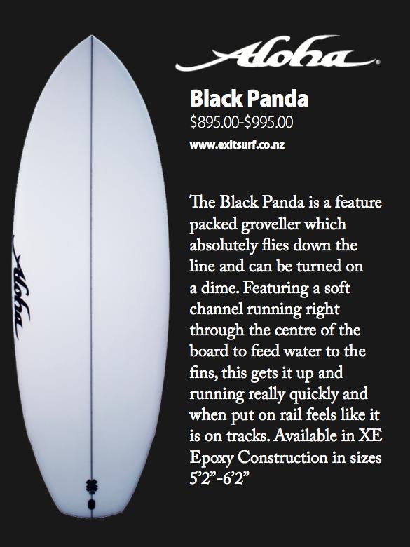 Aloha Black Panda