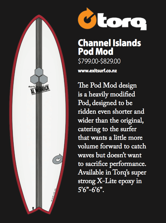 Torq Channel Islands Pod Mod