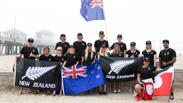 Team NZ. Photo: Salina Galvan